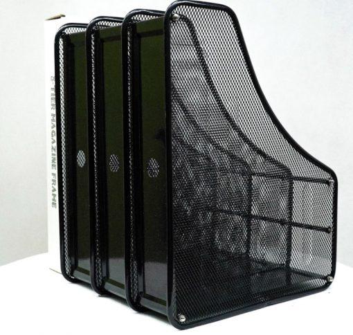 Kệ sách 3 ngăn màu đen