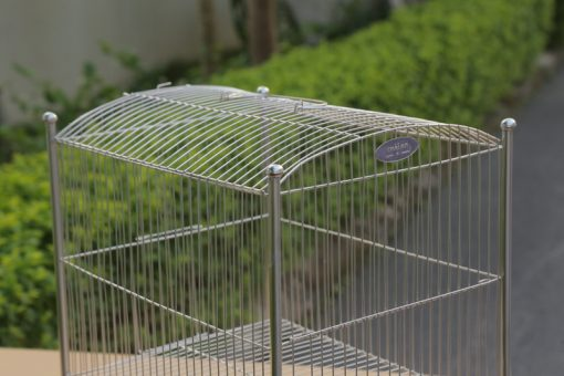 Lồng tắm inox cho chim