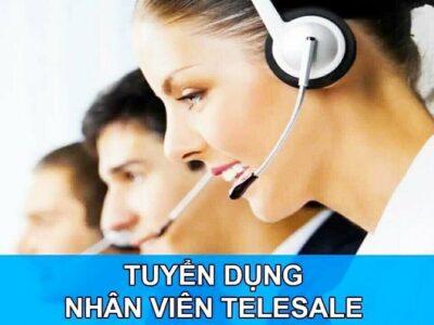 Tuyển nhân viên bán hàng qua điện thoại.